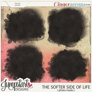 The Softer Side of Life {Photo Masks} by Jumpstart Designs