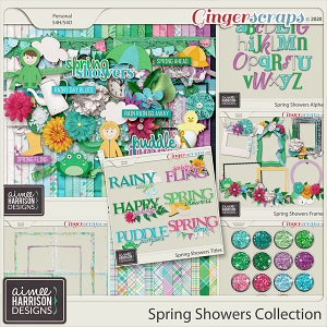 Spring Showers Collection by Aimee Harrison