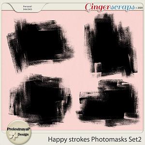 Happy Strokes Photomasks Set2
