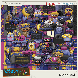 Night Owl by BoomersGirl Designs