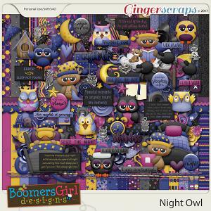 Night Owl by BoomersGirl Designs