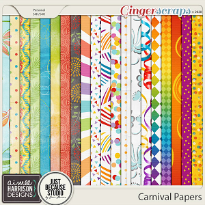 Carnival Paper Pack by Aimee Harrison and JB Studio