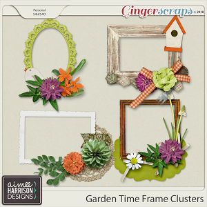 Garden Time Frame Clusters by Aimee Harrison
