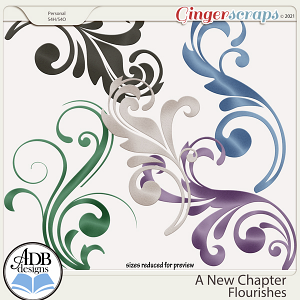 A New Chapter Flourishes by ADB Designs