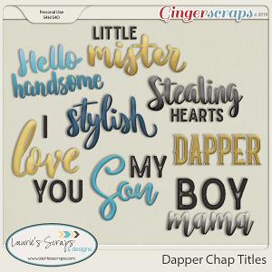Dapper Chap Titles