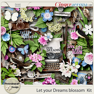 Let your Dreams blossom Kit