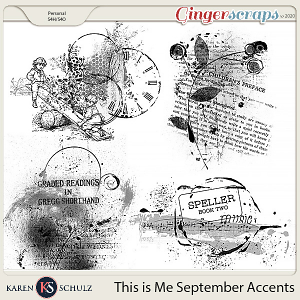 This is Me September Accents by Karen Schulz
