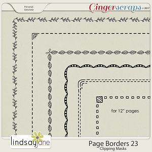 Page Borders 23 by Lindsay Jane