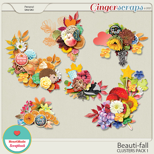 Beauti-fall clusters pack 1