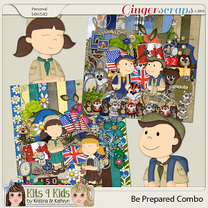 Be Prepared Page Kit Combo by K4K