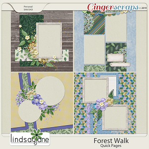 Forest Walk Quick Pages by Lindsay Jane