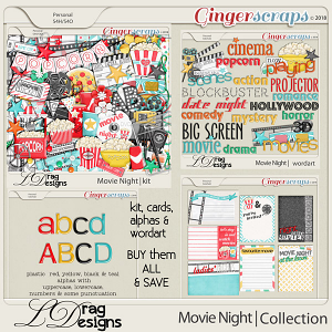 Movie Night: The Collection by LDragDesigns