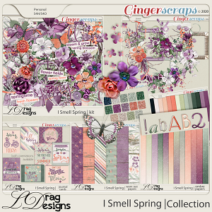 I Smell Spring: The Collection by LDragDesigns
