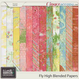 Fly High Blended Papers by Aimee Harrison