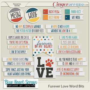 Furever Love Word Bit Pack