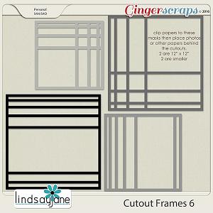 Cutout Frames 6 by Lindsay Jane