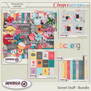 Sweet Stuff - Bundle by Aprilisa Designs