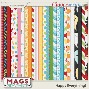 Happy Everything PAPERS by MagsGraphics