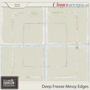 Deep Freeze Messy Edges by Aimee Harrison