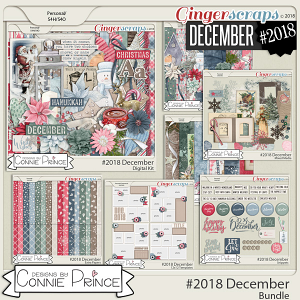 #2018 December - Bundle Collection by Connie Prince