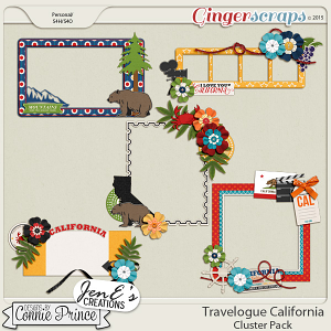 Travelogue California - Cluster Pack