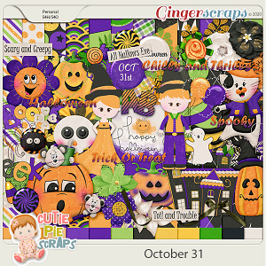 October 31st-Page Kit