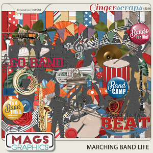Marching Band Life KIT by MagsGraphics