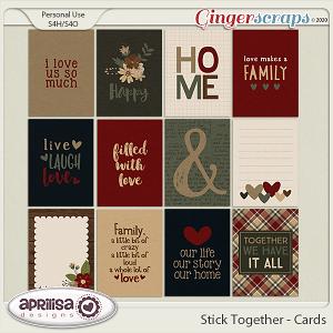 Stick Together - Cards by Aprilisa Designs