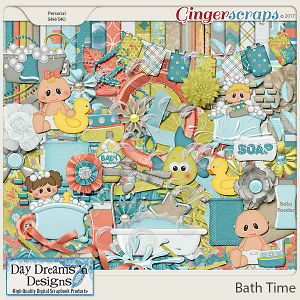 Bath Time {Kit} by Day Dreams 'n Designs