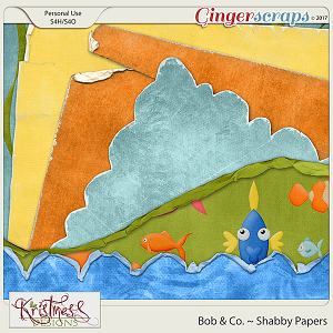 Bob & Co. Shabby Papers