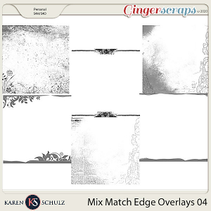 Mix Match Edge Overlays 04 by Karen Schulz