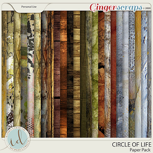 Circle Of Life Paper Pack by Ilonka's Designs
