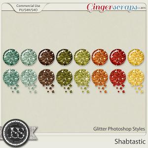Shabtastic Glitter Photoshop Styles