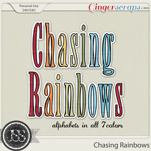 Chasing Rainbows Alphabets