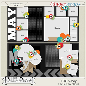 #2016 May - 12x12 Template Pack (CU Ok)
