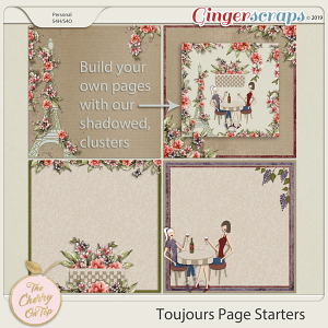The Cherry On Top Toujours Page Starters