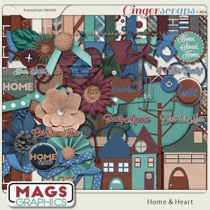 Home & Heart KIT MagsGraphics