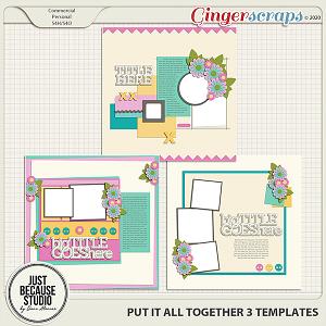Put It All Together 3 Templates by JB Studio