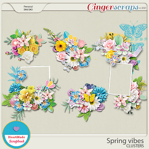 Spring vibes - clusters