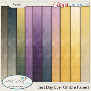 Best Day Ever Ombre Papers
