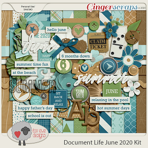 Document Life June 2020 Kit by Luv Ewe Designs