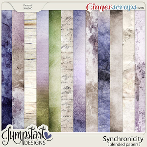 Synchronicity {Blended Papers} by Jumpstart Designs