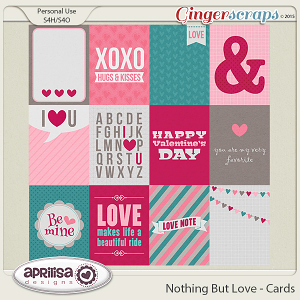 Nothing But Love - Cards