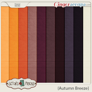 Autumn Breeze Cardstocks by Scraps N Pieces