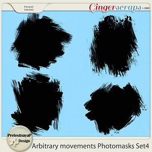 Arbitrary movements Photomasks Set4