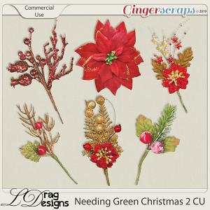 Needing Green Christmas 2 CU by LDragDesigns