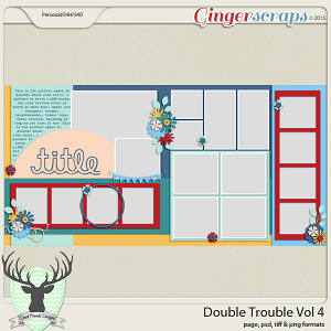 July 2015 Buffet: Double Trouble Vol 4