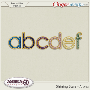 Shining Stars - Alpha by Aprilisa Designs