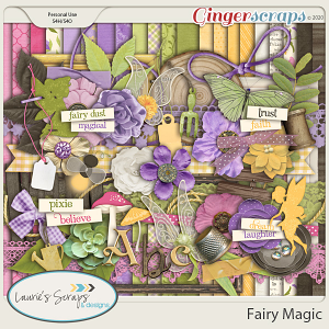 Fairy Magic Page Kit