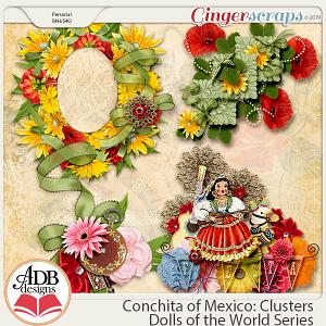 Conchita Clusters {DOTW Mexico} by ADB Designs